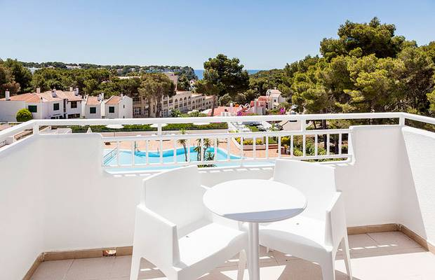 Book in advance! hotel ilunion menorca cala galdana